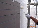 外壁塗装ローラー塗装