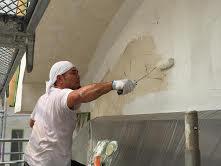 外壁塗装JINTEC仕事風景