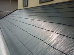 北畠工務店屋根塗装完工