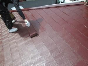 宮一屋根塗装施工後