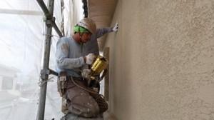 平松塗装店外壁塗装吹き付け