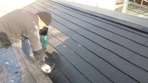 浜名湖ホームサービス塗装風景