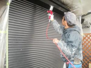 雨戸シャッター塗装