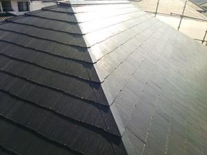光和建装屋根塗装後