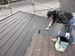 T.Y.G屋根塗装作業
