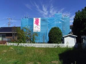 栃塗外壁塗装施工後