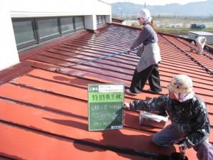 しろきや産業屋根塗装