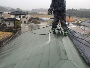 光和建装屋根高圧洗浄