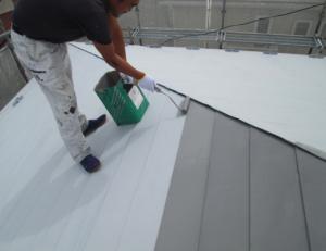 アートリファイン屋根ガイナ塗装