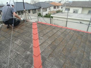 西川ハウス産業屋根塗装