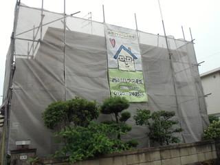 西川ハウス産業足場