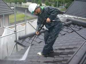 コージーハウス屋根洗浄