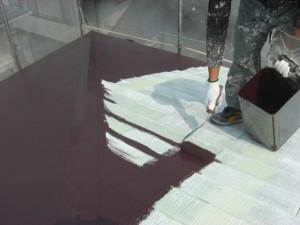 コージーハウス屋根塗装