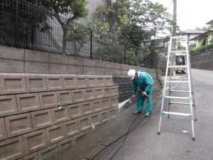 マンセル壁洗浄