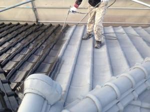 マンセル屋根塗装