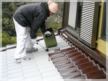 キュウテックセンター屋根塗装
