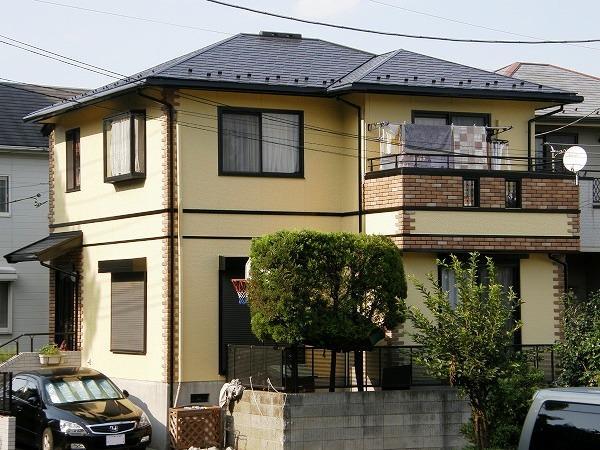 屋根と外壁同時に塗装