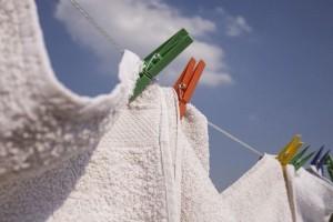 マンション洗濯物