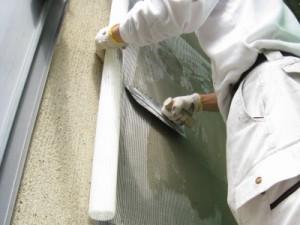 モルタル壁防水シート