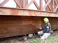 木造住宅塗装