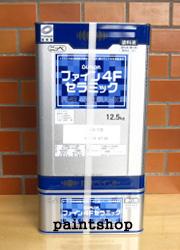 フッ素塗料の缶