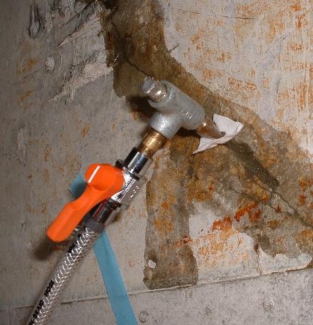 エポキシ樹脂注入補強工事
