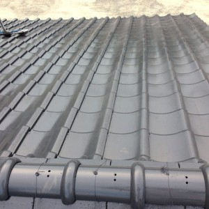 ケモリ建装屋根塗装