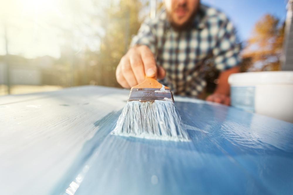 水性塗料水に溶ける