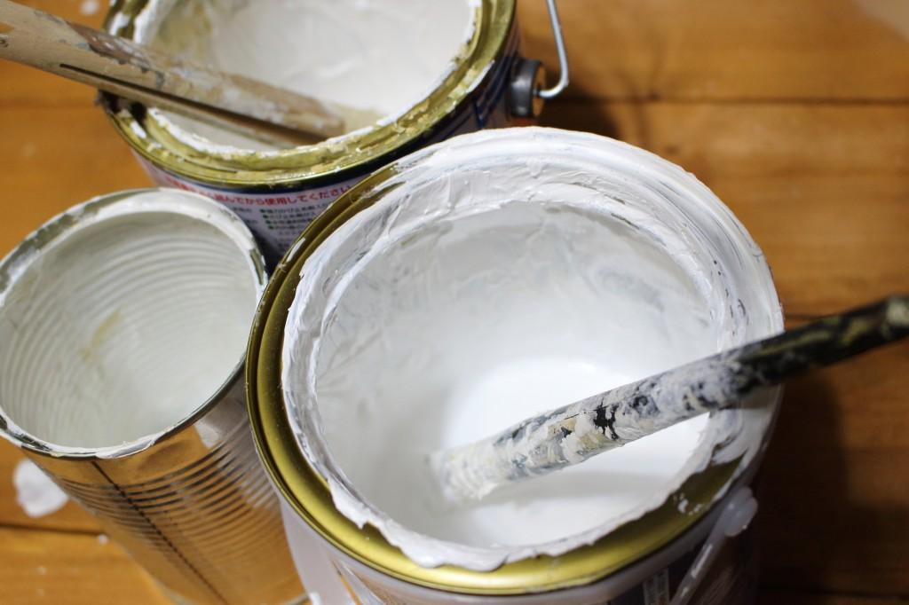 油性塗料と水性塗料の違い