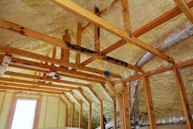 屋根の断熱材