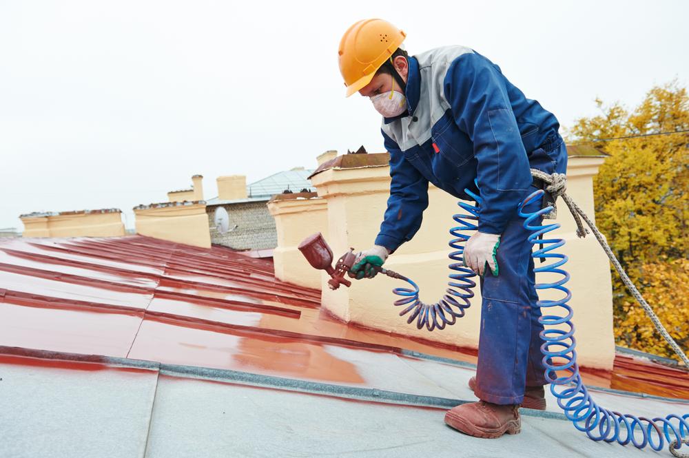 屋根断熱塗料