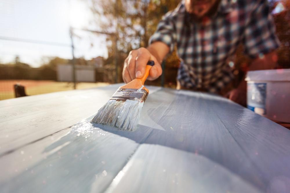 物置の屋根塗装