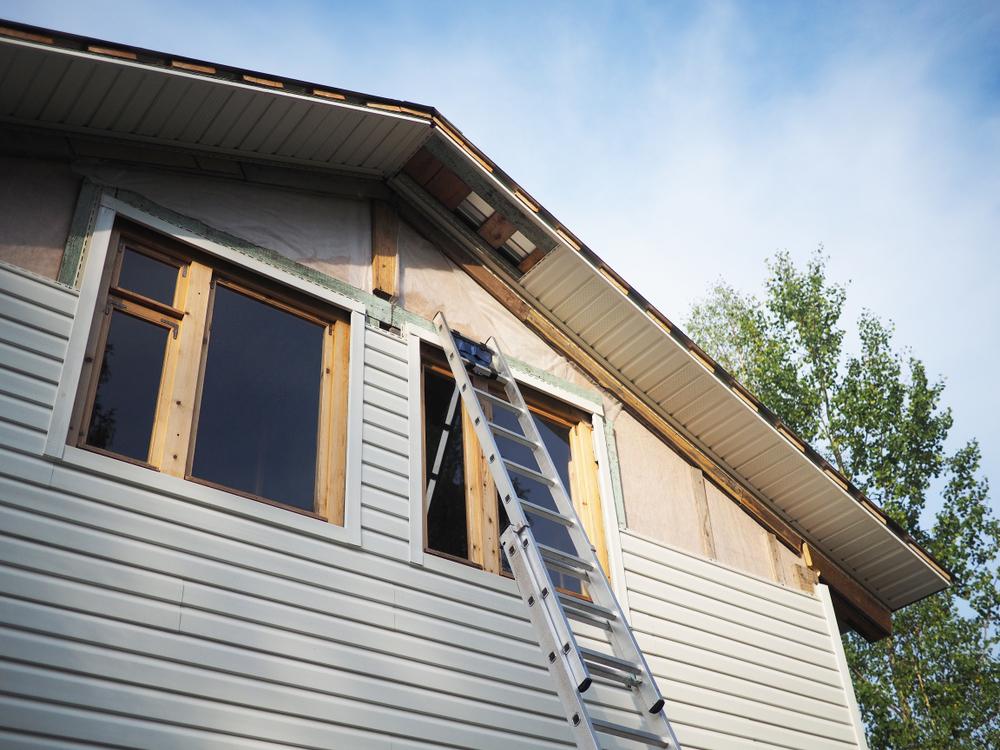 外壁サイディング貼り替え