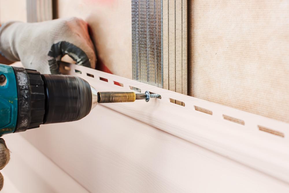 外壁サイディング重ね貼り