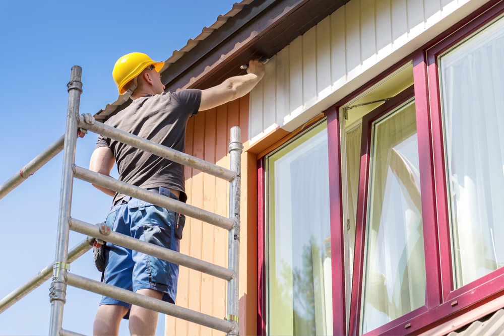 外壁塗り替えの時期