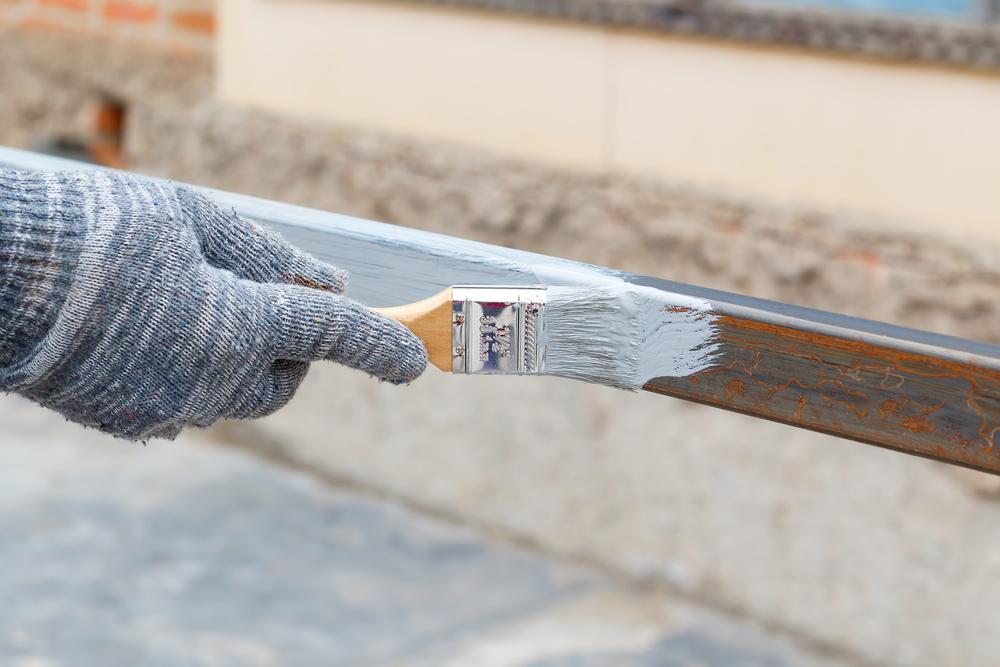 鉄部塗装の注意点