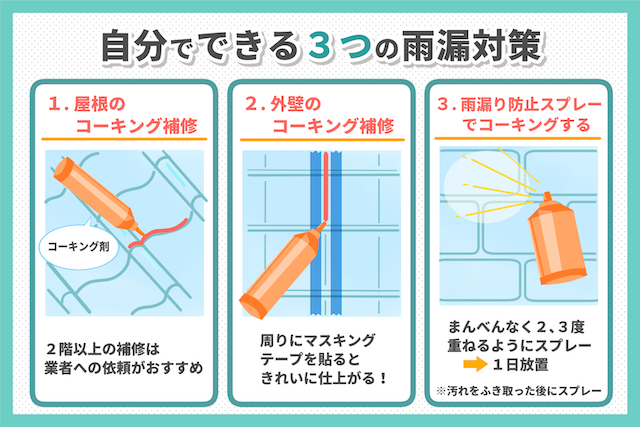 雨漏りを確実に防ぐ対策6つをプロが徹底解説